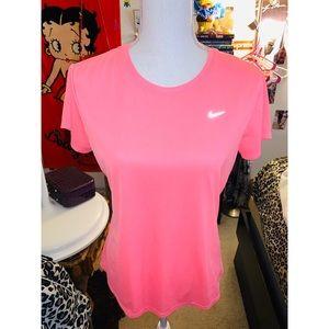 Pink Nike Dri-Fit Tee